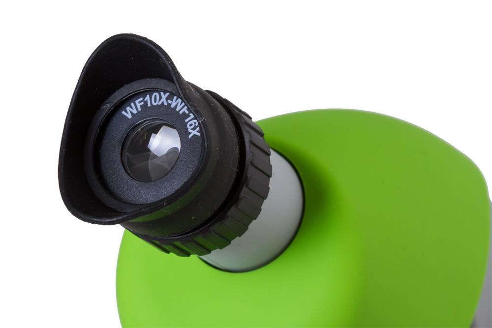 Микроскоп bresser junior зеленый по цене руб